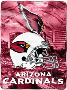 "Northwest NFL Arizona Cardinals 60""x80"" Throws"