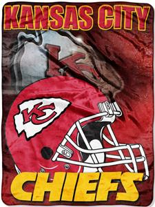 "Northwest NFL Kansas City Chiefs 60""x80"" Throws"
