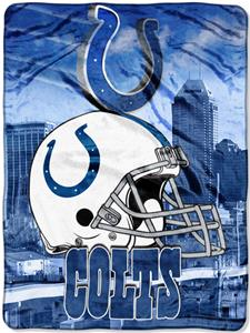 "Northwest NFL Indianapolis Colts 60""x80"" Throws"