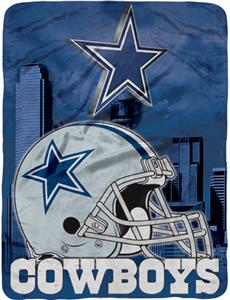 "Northwest NFL Dallas Cowboys 60""x80"" Throws"