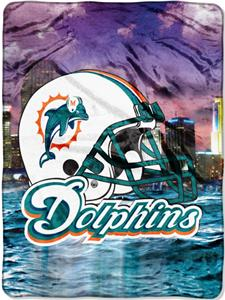 "Northwest NFL Miami Dolphins 60""x80"" Throws"