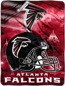 Northwest NFL Atlanta Falcons 60&quot;x80&quot; Throws