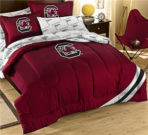 Northwest NCAA South Carolina Full Bed in Bag Set