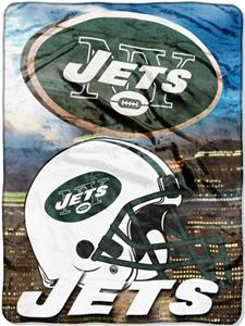 "Northwest NFL New York Jets 60""x80"" Throws"