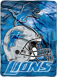 "Northwest NFL Detroit Lions 60""x80"" Throws"