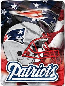 "Northwest NFL New England Patriots 60""x80"" Throws"
