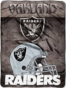 "Northwest NFL Oakland Raiders 60""x80"" Throws"