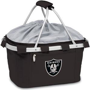 Picnic Time NFL Oakland Raiders Metro Basket