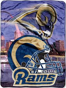 "Northwest NFL St. Louis Rams 60""x80"" Throws"