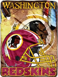 "Northwest NFL Washington Redskins 60""x80"" Throws"
