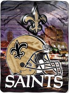 "Northwest NFL New Orleans Saints 60""x80"" Throws"