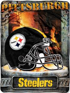 "Northwest NFL Pittsburgh Steelers 60""x80"" Throws"
