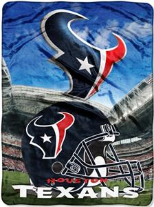 "Northwest NFL Houston Texans 60""x80"" Throws"