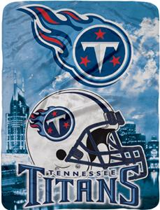 "Northwest NFL Tennessee Titans 60""x80"" Throws"
