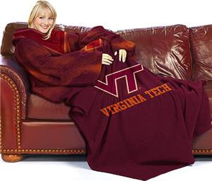 Northwest NCAA Virginia Tech Comfy Throw (Smoke)