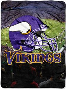 "Northwest NFL Minnesota Vikings 60""x80"" Throws"