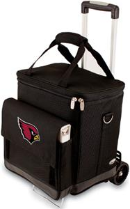 Picnic Time NFL Arizona Cardinals Cellar w/Trolley