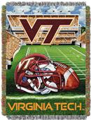 Northwest NCAA Virginia Tech HFA Tapestry Throw