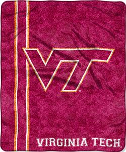 Northwest NCAA Virginia Tech Jersey Sherpa Throw