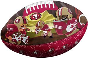 Northwest NFL San Francisco 49ers Football Pillows
