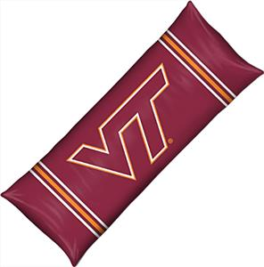 Northwest NCAA Virginia Tech Body Pillow