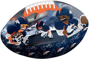 Northwest NFL Denver Broncos Football Pillows
