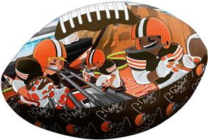 Northwest NFL Cleveland Browns Football Pillows