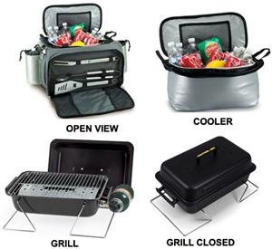 Picnic Time University of Michigan Vulcan Cooler