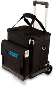 Picnic Time NFL Carolina Panthers Cellar w/Trolley