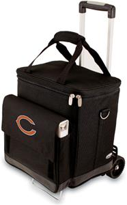 Picnic Time NFL Chicago Bears Cellar with Trolley