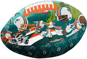 Northwest NFL Miami Dolphins Football Pillows