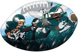 Northwest NFL Philadelphia Eagles Football Pillows