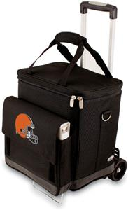 Picnic Time NFL Cleveland Browns Cellar w/Trolley