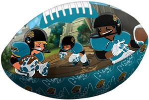 Northwest NFL Jacksonville Jaguars Football Pillow
