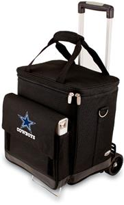 Picnic Time NFL Dallas Cowboys Cellar with Trolley