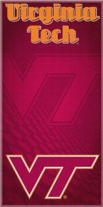 Northwest NCAA Virginia Tech Beach Towel