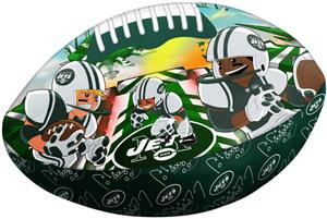 Northwest NFL New York Jets Football Pillows