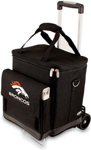 Picnic Time NFL Denver Broncos Cellar with Trolley