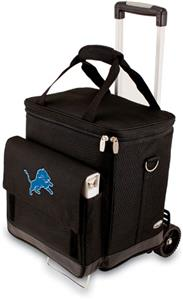 Picnic Time NFL Detroit Lions Cellar with Trolley