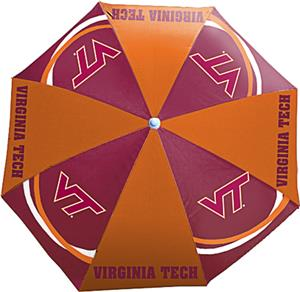 Northwest NCAA Virginia Tech Beach Umbrella