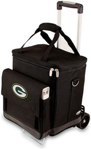 Picnic Time NFL Green Bay Packers Cellar w/Trolley