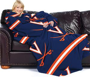 Northwest NCAA Virginia Comfy Throw (Stripes)