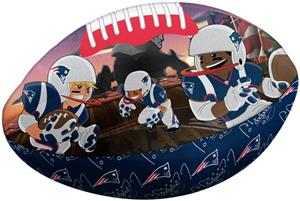 Northwest NFL New England Patriots Football Pillow