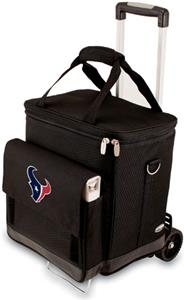 Picnic Time NFL Houston Texans Cellar with Trolley
