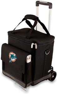 Picnic Time NFL Miami Dolphins Cellar with Trolley
