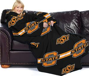 Northwest NCAA OSU Comfy Throw (Stripes)