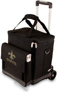 Picnic Time NFL New Orlean Saints Cellar & Trolley