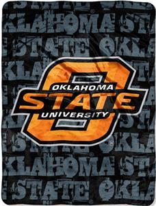 Northwest NCAA OSU Grunge Raschel Throw