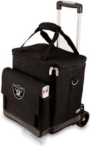 Picnic Time NFL Oakland Raiders Cellar w/Trolley