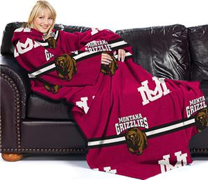 Northwest NCAA Montana Comfy Throw (Stripes)